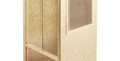 terrario de madera